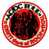 AC/DC - 'Giant Dose of Rock 'n' Roll' Embroidered Patch